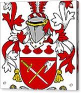 Grymes Coat Of Arms Irish Acrylic Print