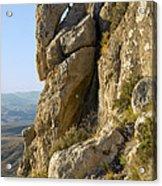 Guadalupe Peak Trail Acrylic Print