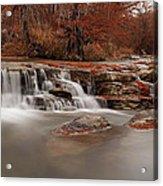 Guadalupe River Panorama Acrylic Print