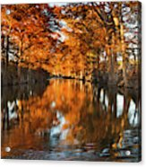 Guadalupe River, Texas Hill Country Acrylic Print