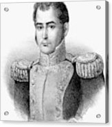 Guadalupe Victoria (1789-1843) Acrylic Print