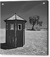 Guard Shack Acrylic Print