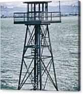 Guard Tower Alcatraz Acrylic Print