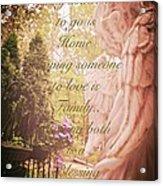 Guardian Angel Blessings Acrylic Print