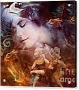 Guardian Angels Acrylic Print
