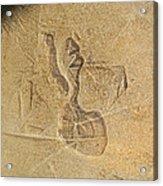 Guardian In The Stone Acrylic Print