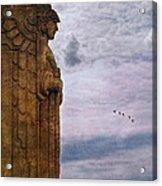 Guardian Of Hope Acrylic Print