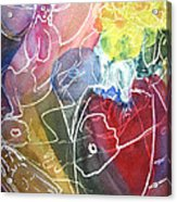 Guardian Of Light Acrylic Print
