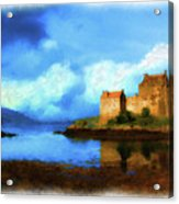 Guardian Of The Loch Acrylic Print