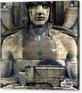 Guardian Of Traffic Acrylic Print