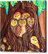 Guardians Of The Forest Acrylic Print