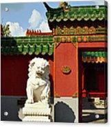 Guarding The Gate Acrylic Print