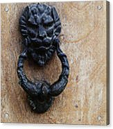 Guatemala Door Decor 2 Acrylic Print