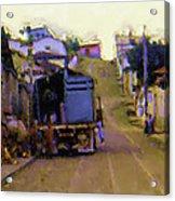 Guatemalan Street Truck Acrylic Print