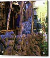 Guatemalan Carpenter Acrylic Print