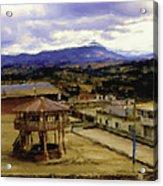 Guatemalan Roof Top Four Acrylic Print