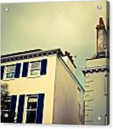Guernsey Houses Acrylic Print by Tom Gowanlock