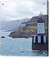 Guernsey Lighthouse Acrylic Print