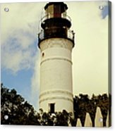 Guiding Light Of Key West Acrylic Print