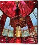 Guiding Red Light Acrylic Print