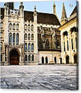 Guildhall Building And Art Gallery Acrylic Print by Elena Elisseeva