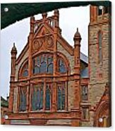 Guildhall In Londonderry Northern Ireland Acrylic Print