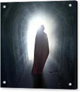 Guise In Tunnel Acrylic Print
