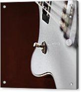 Guitar Abstract Acrylic Print