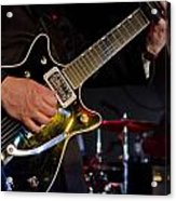 Guitar At The Blues Festival Acrylic Print