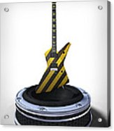 Guitar Desplay V3 Acrylic Print by Frederico Borges