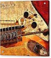 Guitar Fender Acrylic Print