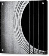 Guitar Film Noir Acrylic Print