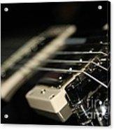 Guitar Glance Acrylic Print