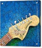 Guitar Head Acrylic Print