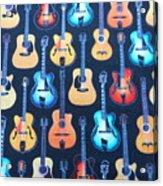 Guitar Heaven Acrylic Print