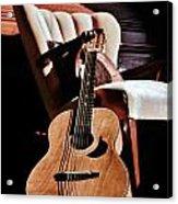 Guitar In Sunlight Acrylic Print