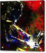 Guitar Man Acrylic Print