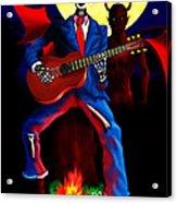 Guitar Man Upstairs Acrylic Print