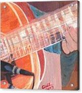 Guitar Music Acrylic Print