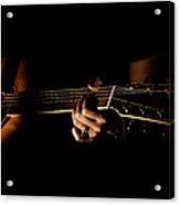 Guitar Player Acrylic Print
