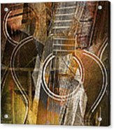Guitar Works Acrylic Print