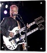 Guitarist Don Felder Acrylic Print