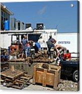 Gulf Coast Oyster Industry Acrylic Print