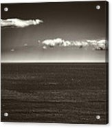 Gulf Of St Lawrence With Clouds Acrylic Print
