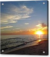 Gulf Shores Alabama Sunset2 Acrylic Print by LCS Art