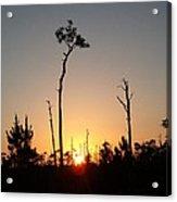 Gulf Shores Sunset Acrylic Print
