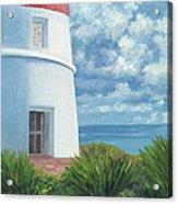 Gun Cay Lighthouse Acrylic Print