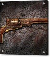 Gun - Colt Model 1851 - 36 Caliber Revolver Acrylic Print