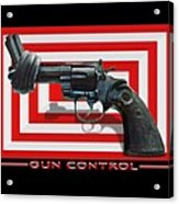 Gun Control Acrylic Print