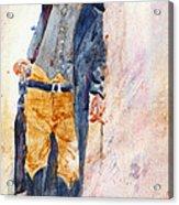Gunfighter Acrylic Print